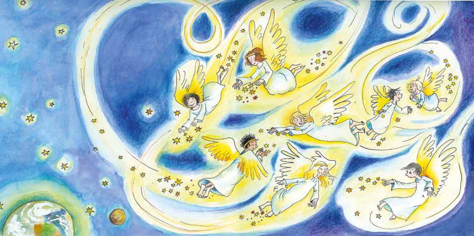 Himmelskinder im Anflug Urheberrecht: Julia Ginsbach, Copyright: Bosworth Music GmbH